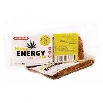 Hemp Energy Bar with Chia Seeds 60g