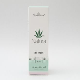 Natura 24 Face Cream for Normal Skin 75g - 20% Hemp