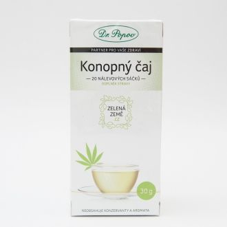 CBD Hemp Tea Portioned 30g