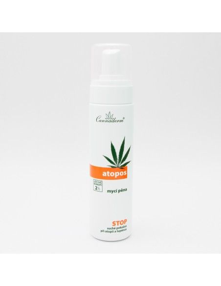 Atopos Body Foam Wash 180ml - 2% Hemp
