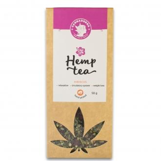 Hemp Tea with Hibiscus 50g