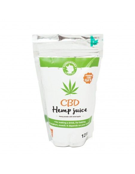 Hemp & Apple Powder Juice 125g CBD+CBDa 650mg