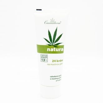 Natura 24 Face Cream for Oily Skin 75g - 13% Hemp