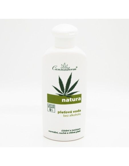 Natura Skin Tonic for Dry and Normal Skin 200ml - 5% Hemp