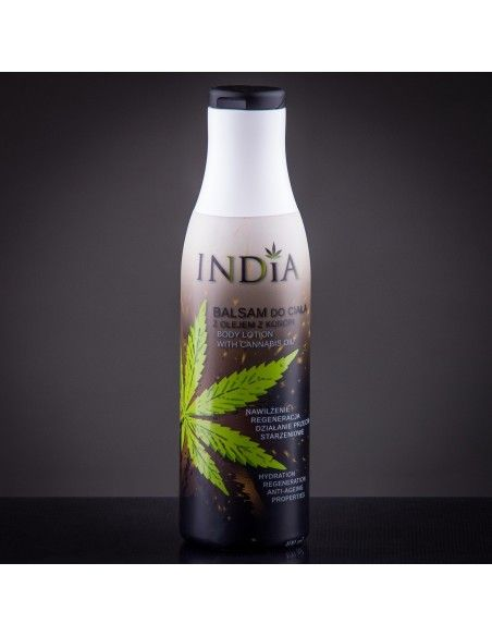 Body Lotion with Hemp Oil 400ml