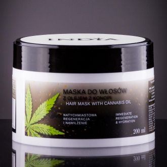 Hair Mask with Hemp Oil 200ml