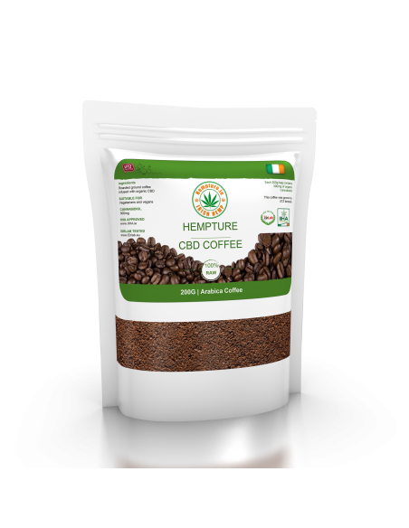 CBD Coffee Arabica 200g (300mg CBD)