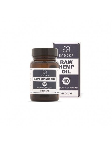 RAW CBD Hemp Oil Capsules 300mg-1200mg CBD+CBDa