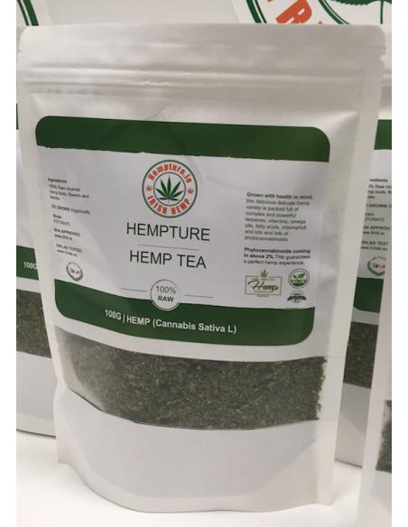RAW Crushed Hemp Tea 100g