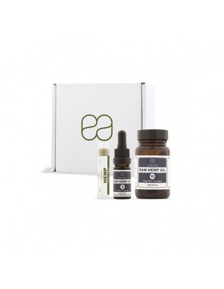 Endoca Starter Pack (RAW Capsules, Oil and Skin Balm)