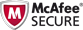 Tested and Certified by McAfee